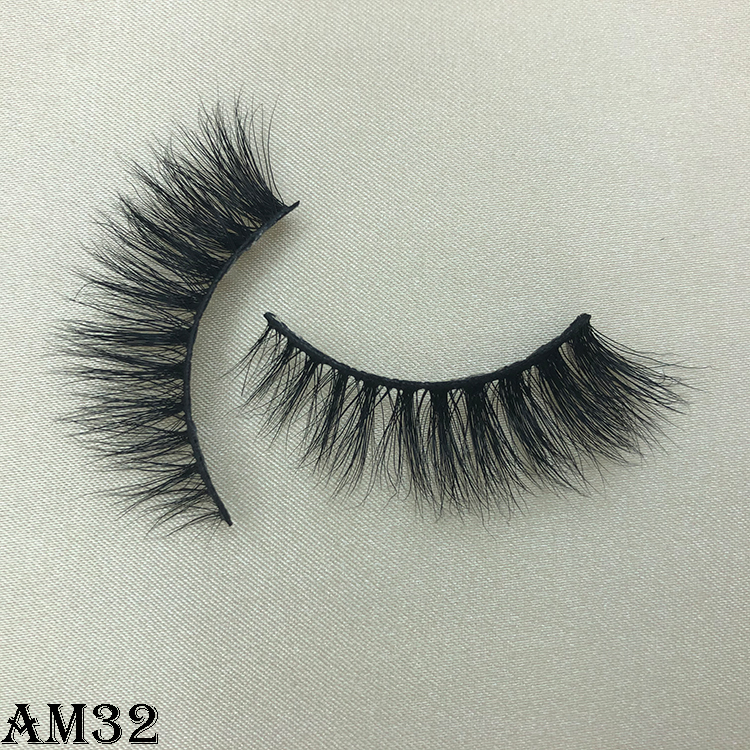3D mink eyelashes AM32