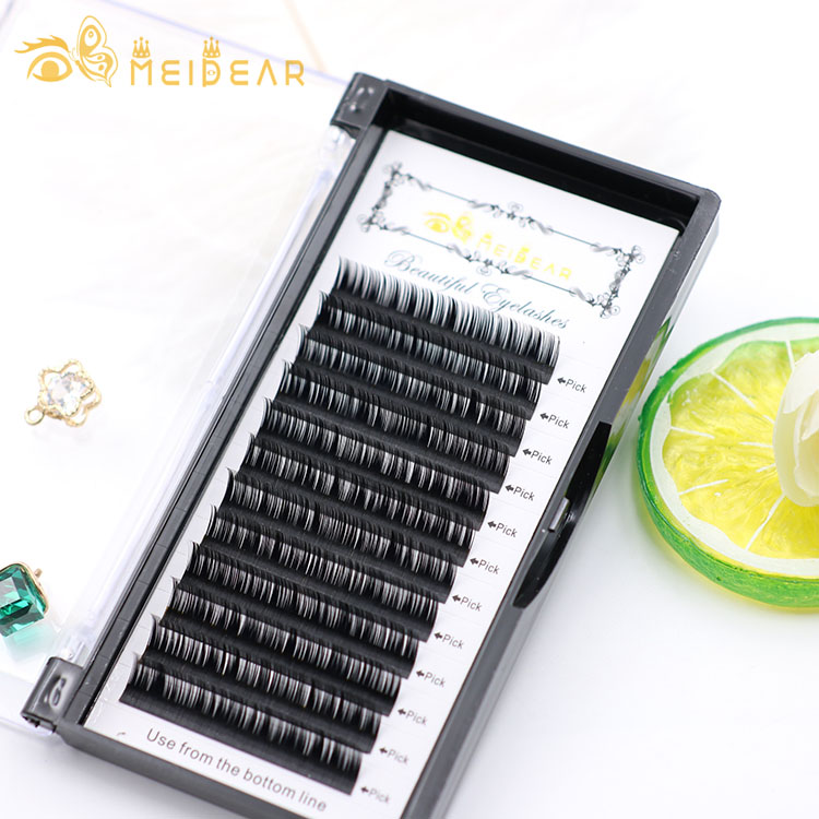 27a2c2f1613 Eyelashes private label factory provides natural looking individual eyelash  extensions with a lowest price
