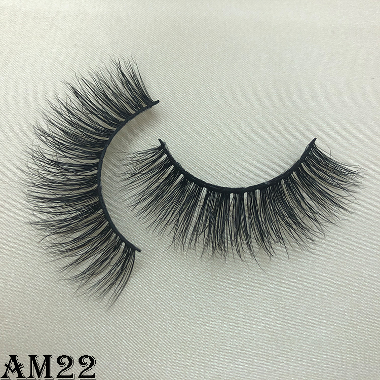 3D mink eyelashes AM22