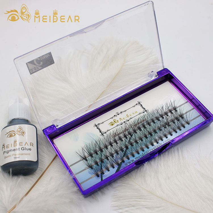 Manufacturer supply best raw material prefans volume eyelash extension with wholesale price