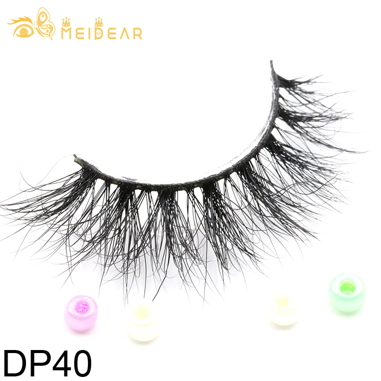 69add5647c1 Eyelash suppliers provide fluffy and shiny real Siberian 3D mink ...
