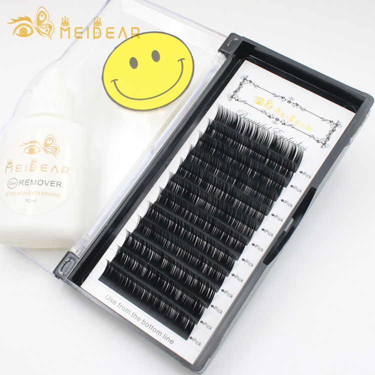 manufacturer provide handmade individual eyelash extension with custom lash packaging.jpg