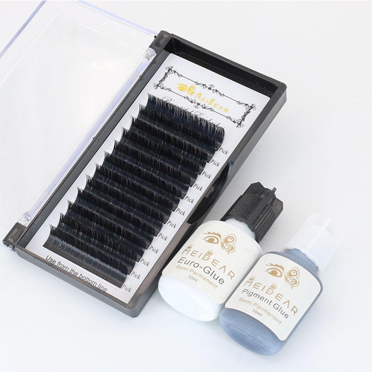 Eyelash extensions manufacturers supplies provide flat ellipse flat
