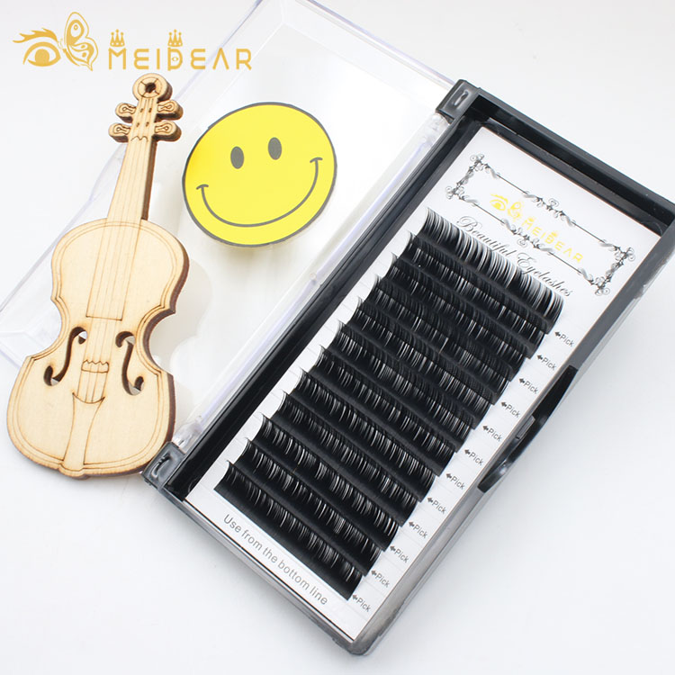 best selling 2018 mink lashes extension with custom eyelash packaging box.jpg