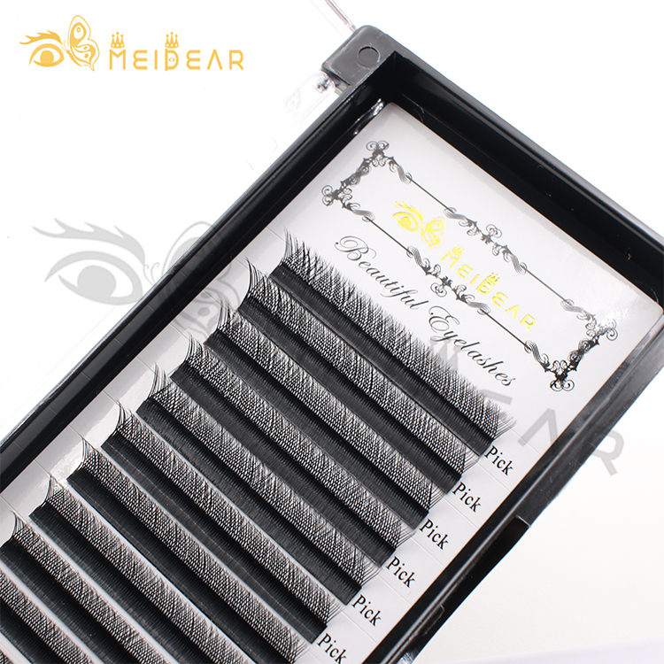 High quality YY individual eyelash extensions with custom packaging UK USA