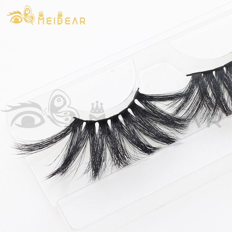 Flase eyelash vendor wholesale dramatic 3d faux mink eyelashes 25mm 27mm 30mm CL