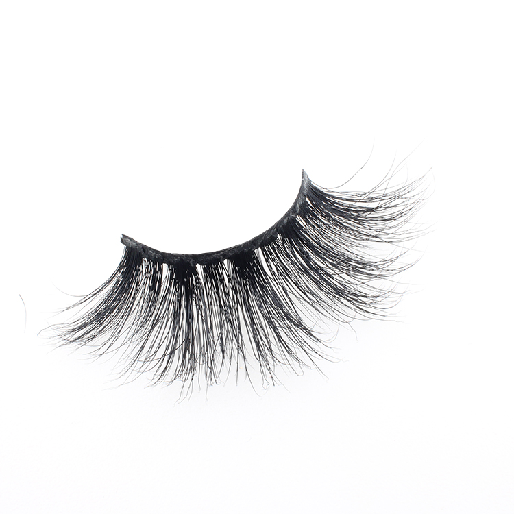 Lash vendor wholesale false lashes 25mm 3D mink strip eyelash with private label