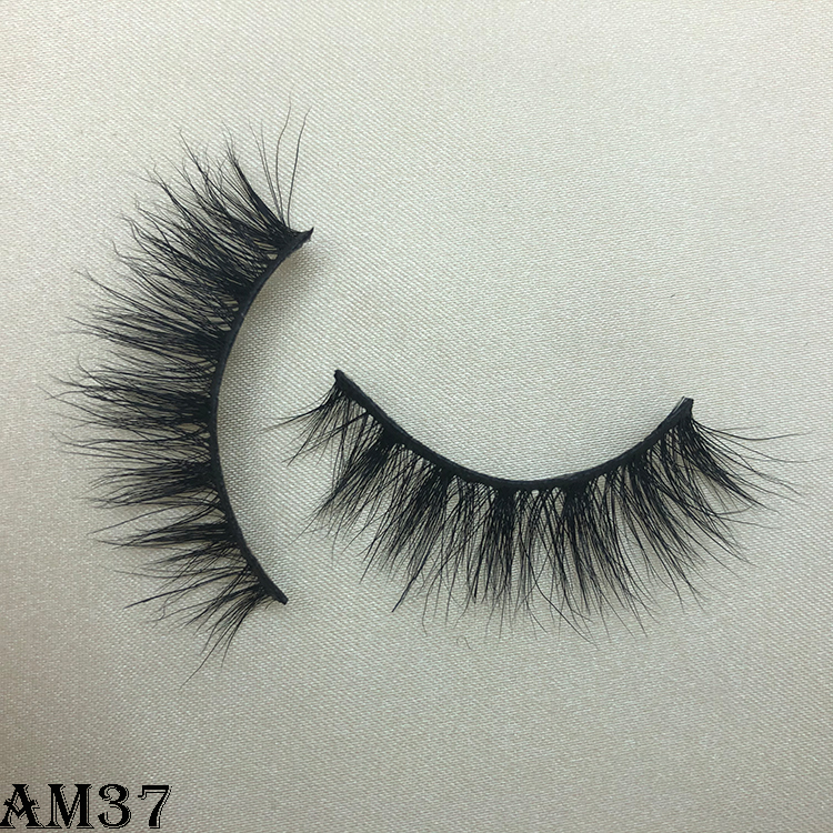 3D mink eyelashes AM37
