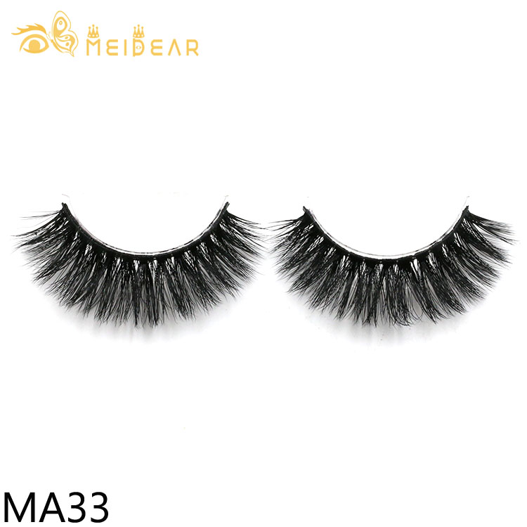 Lash manufacturers supply handmade natural faux mink eyelash with