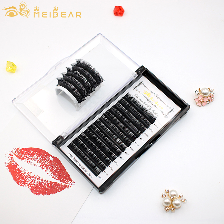 Best lash extension supplier from China mink individual eyelash extensions