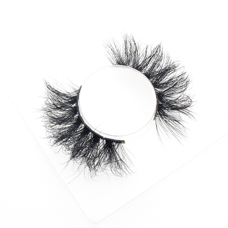 6eec596c575 Vendor wholesale 25mm 3D mink fur lashes with private label packaging box  to UK
