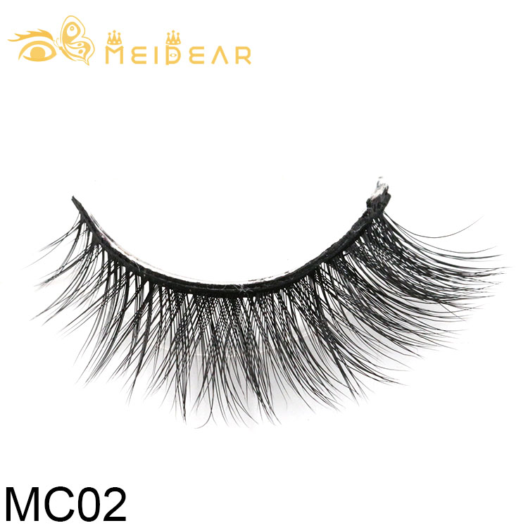 Eyelash distributor supply luxury 3d silk lashes with own brand packaging