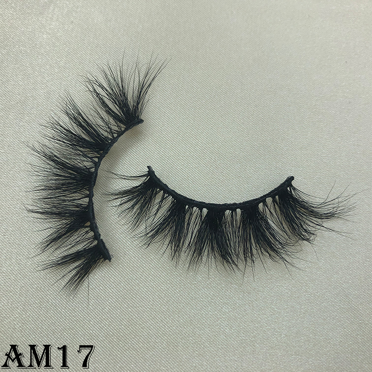 3D mink eyelashes AM17