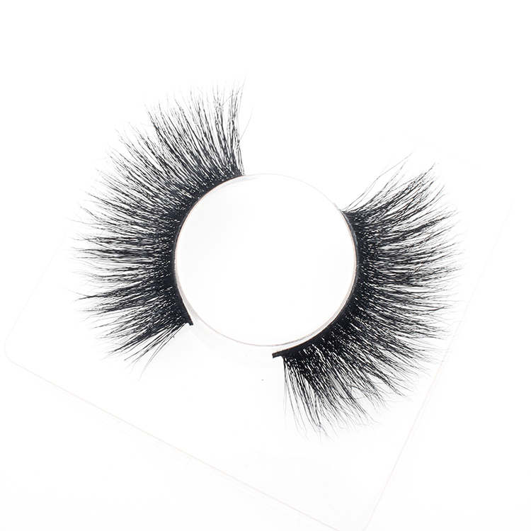 3D mink lashes vendor wholesale siberian real mink eyelash with packaging box