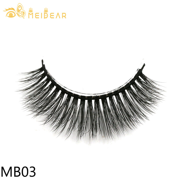 Wholesale high quality 3d silk eyelashes with private label custom packaging to UK