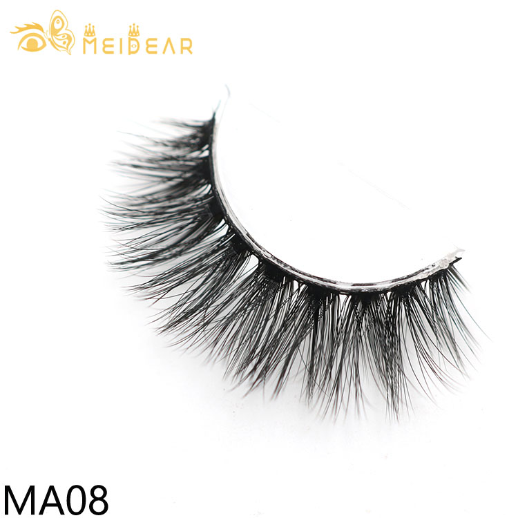 Private label 3d fake lashes with own brand custom packaging box