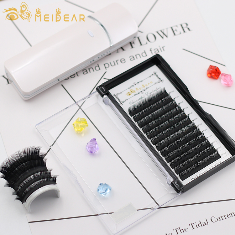 Eyelash extension factory wholesale best price natural looking eyelash extensions