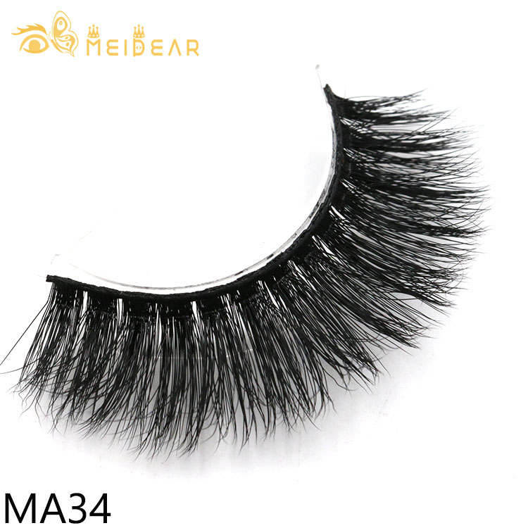 1f700acf6a4 Eyelash wholesale private label for strip faux mink lashes with custom  boxes from Manufacturer Meidear
