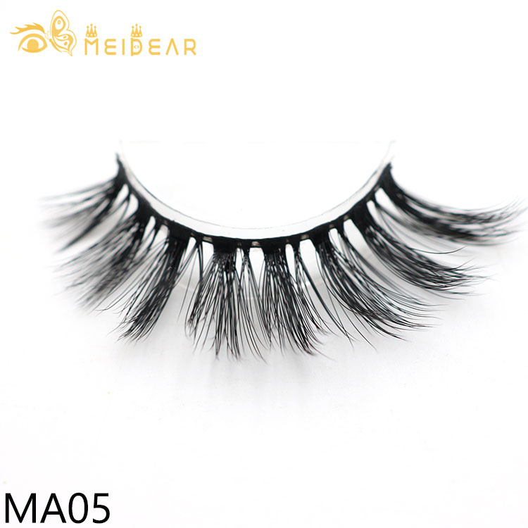 Factory provide top quality 3D faux mink lashes with private label packages