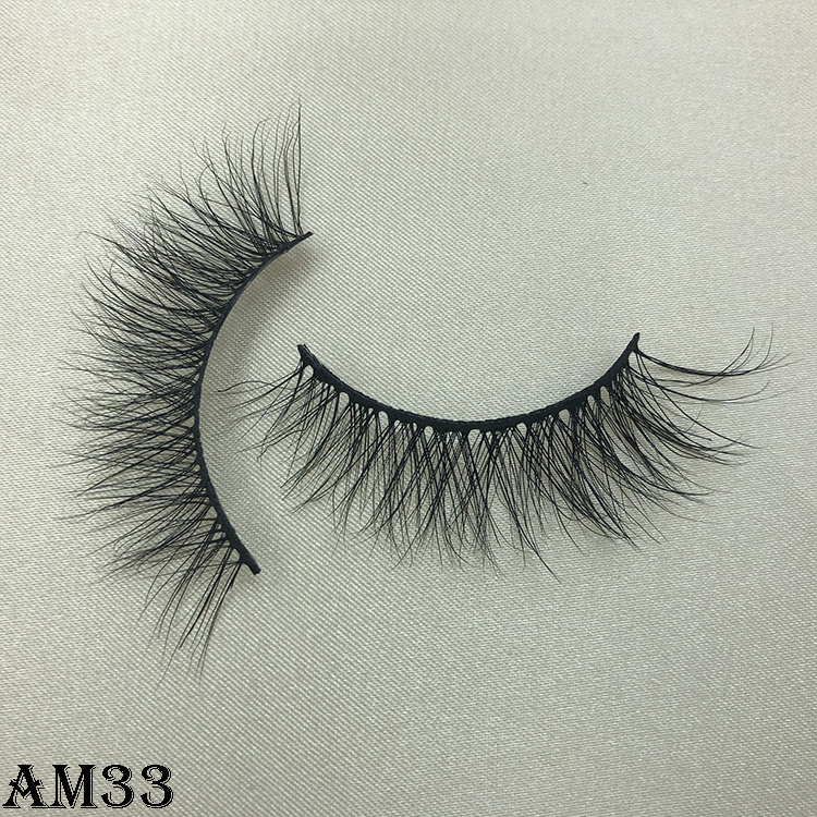 3D mink eyelashes AM33
