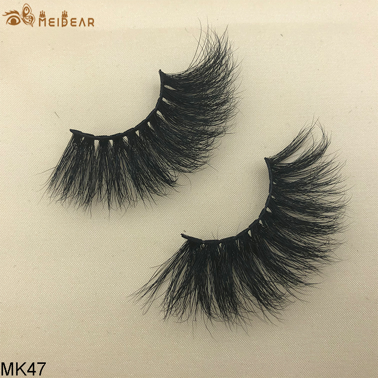 25mm mink eyelashes MK47