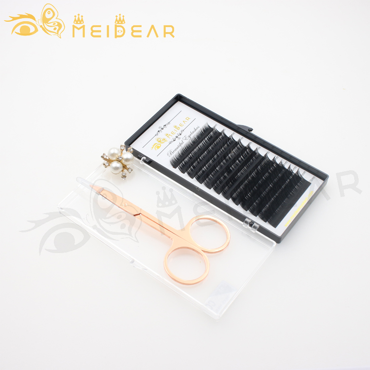 Eyelash vendor handmade 100% cruelty free eyelash extension with eyelash package to AU-SX