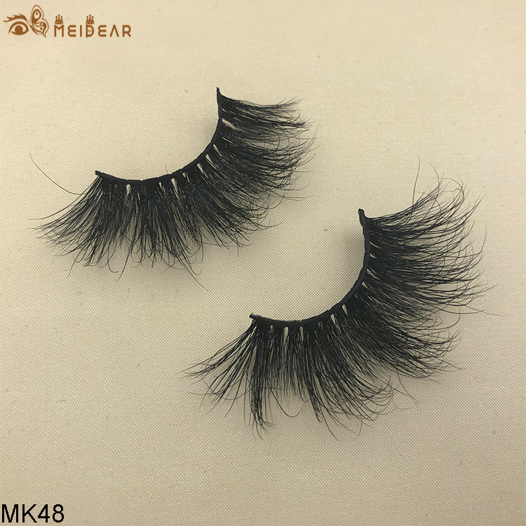 25mm mink eyelashes MK48