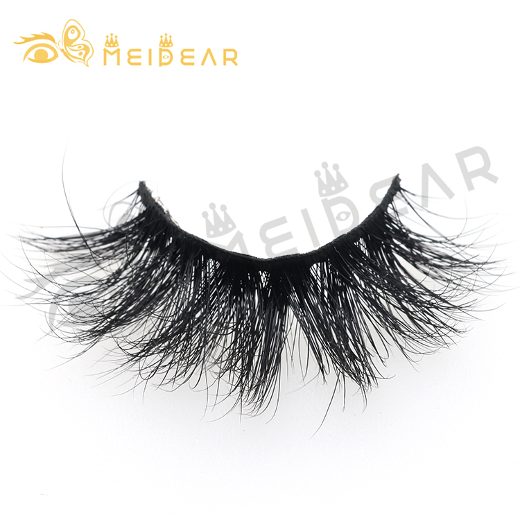 2019 new fashion 25mm 30mm 3D mink lashes with eyelash packaging box