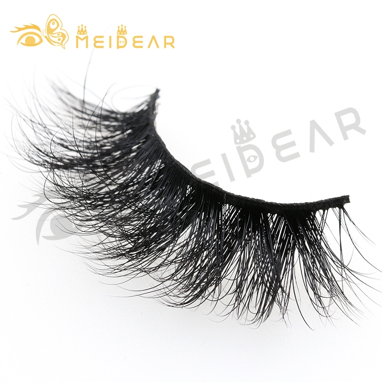 2019 new fashion private label 25mm 3d mink lashes with own brand boxes