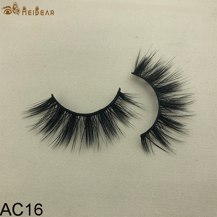 Synthetic faux mink eyelashes AC16 $1.0 per pair