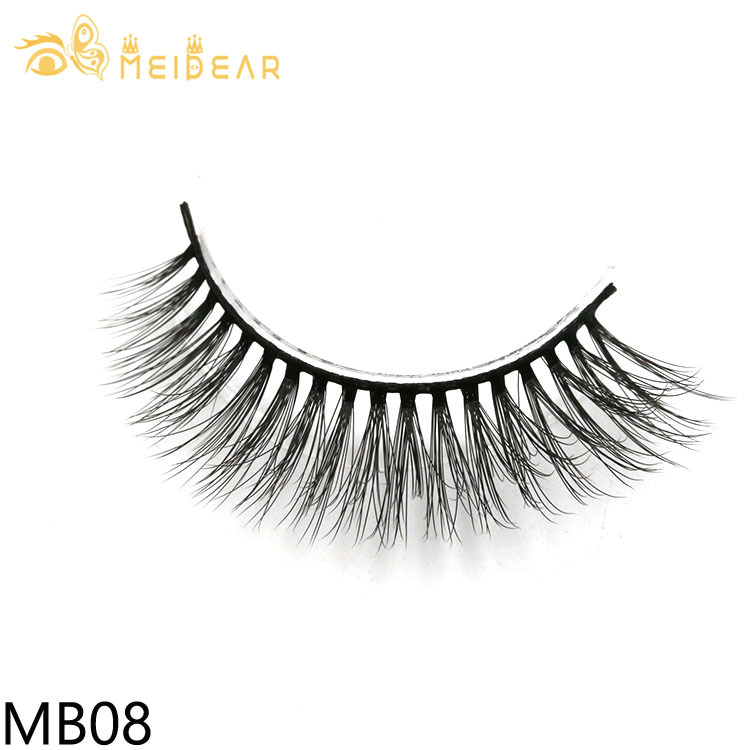 Custom eyelash packaging for glamorous 3d silk lashes with cheap price