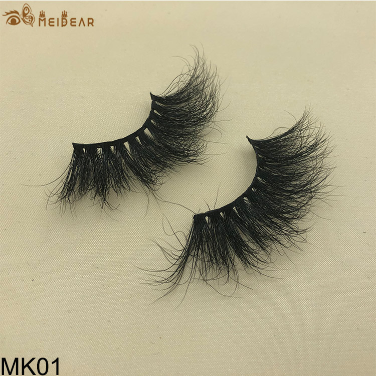 25mm mink eyelashes MK01 $2.0 per pair