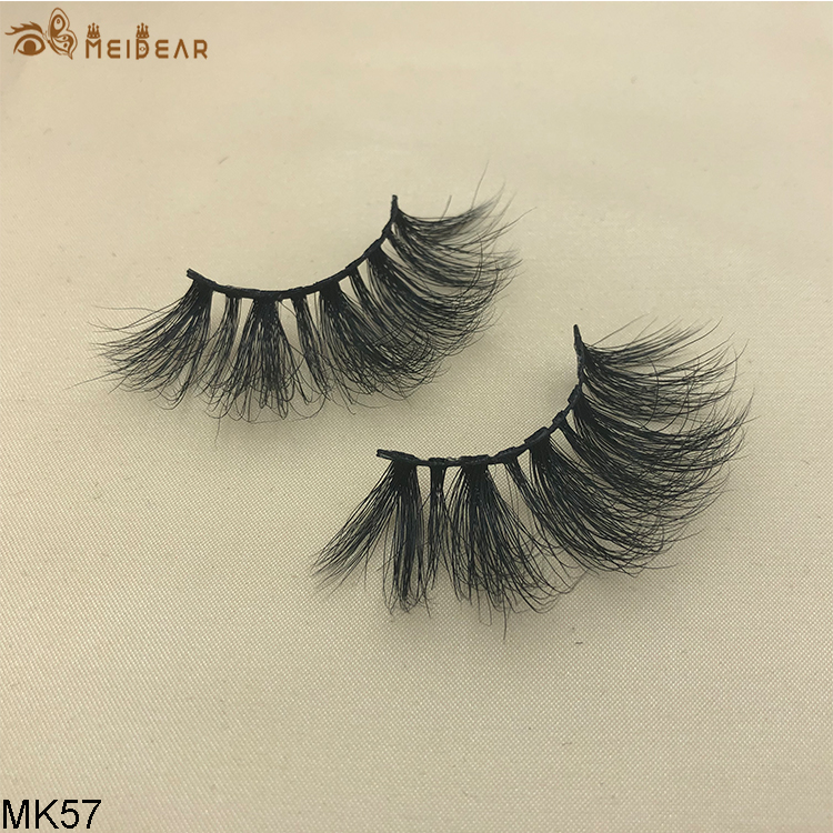 25mm mink eyelashes MK57