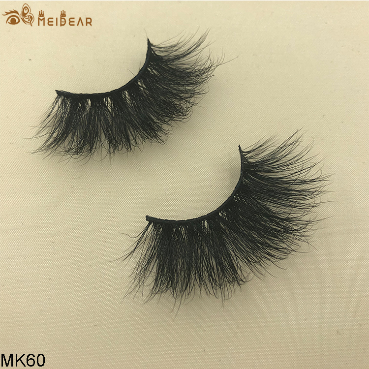 25mm mink eyelashes MK60