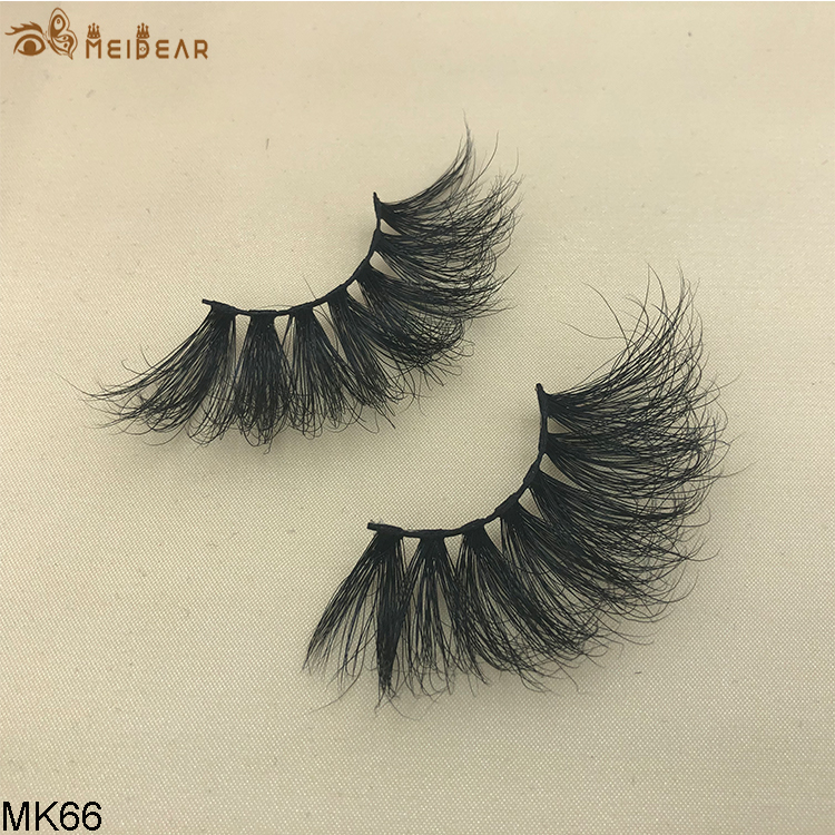 25mm mink eyelashes MK66