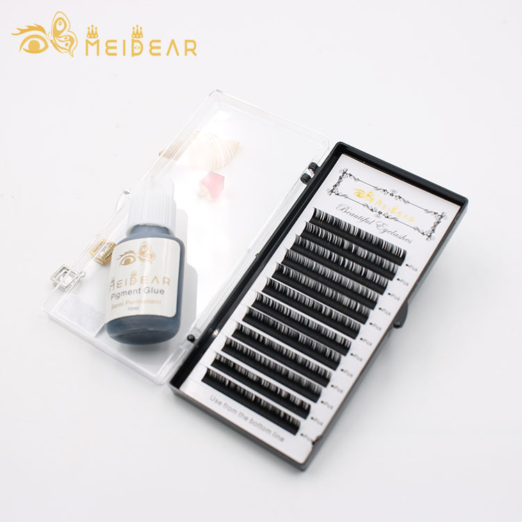 Factory supply handmade individual eyelash extensions with wholesale price
