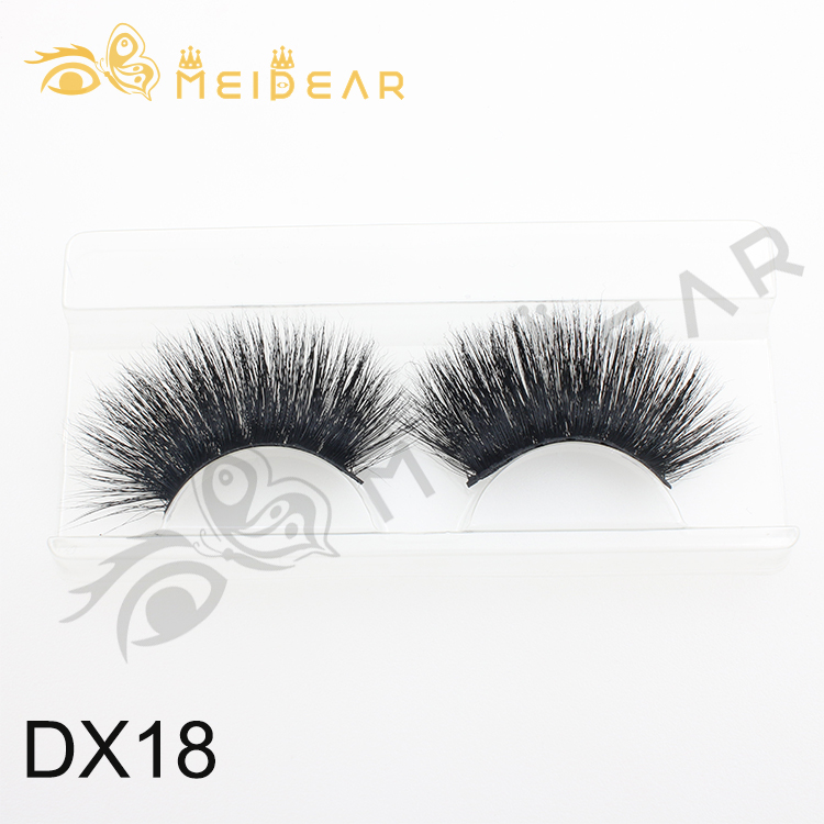 Eyelash vendor wholesale private label eyelash packaging for dramatic 25mm 3D mink eyelash